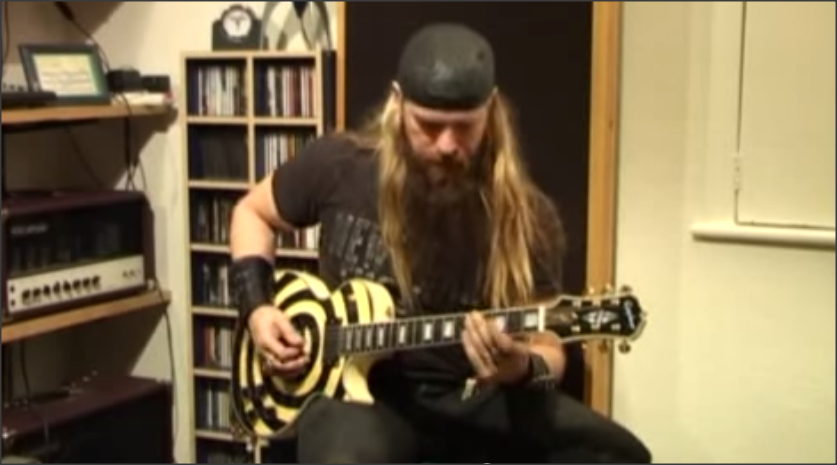video epiphone played by zakk wylde guitars daily. Black Bedroom Furniture Sets. Home Design Ideas