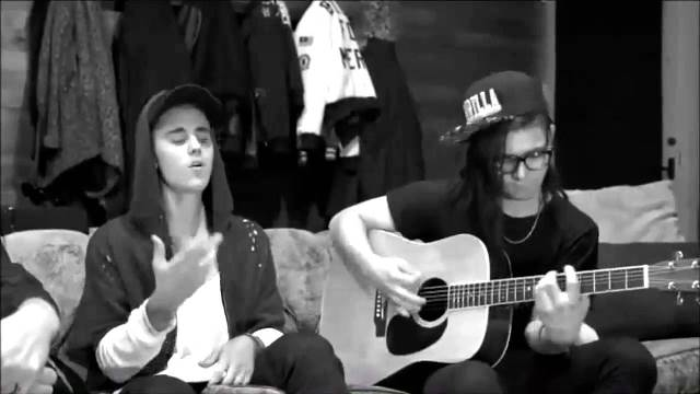 Justin Bieber and Skrillex