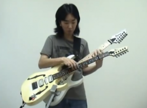 Super Mario and The Simpsons Theme Played Using Two Guitars